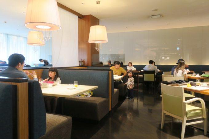 ANAクラウンプラザホテル熊本ニュースカイの朝食会場「サンシエロ」の店内