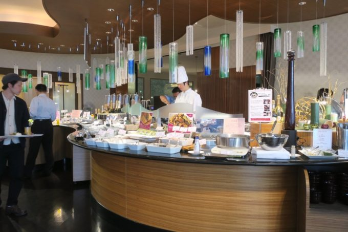 ANAクラウンプラザホテル熊本ニュースカイの朝食会場「サンシエロ」の様子(その1)