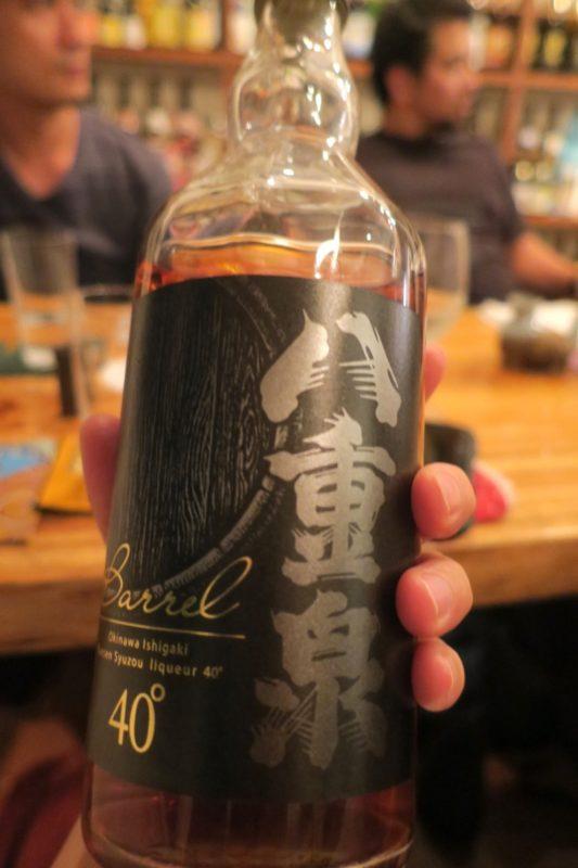 那覇・久米「泡盛倉庫」で飲んだ、八重泉 BARREL(バレル)