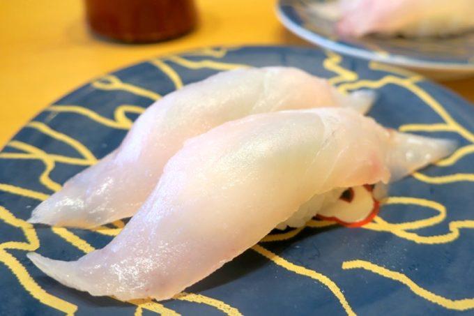 鹿児島県霧島市「廻る寿司 めっけもん 国分店」ホタ(250円)