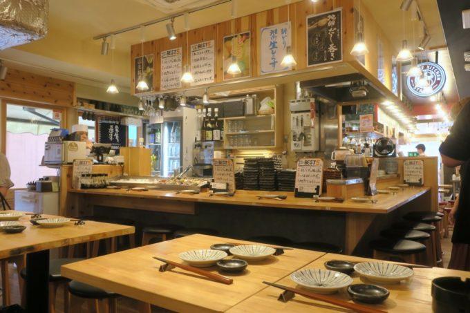横浜・野毛「魚と酒 はなたれ 野毛一番街店」の店内の様子