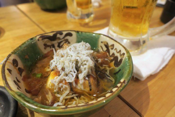横浜・野毛「魚と酒 はなたれ 野毛一番街店」この日のお通し