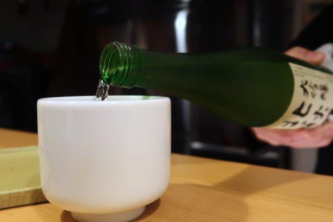 南風原「やきしん」日本酒をいただくことにした