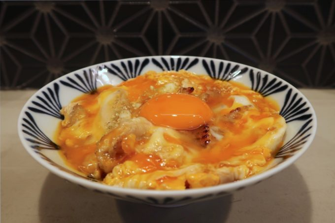 南風原「やきしん」コース料理の親子丼