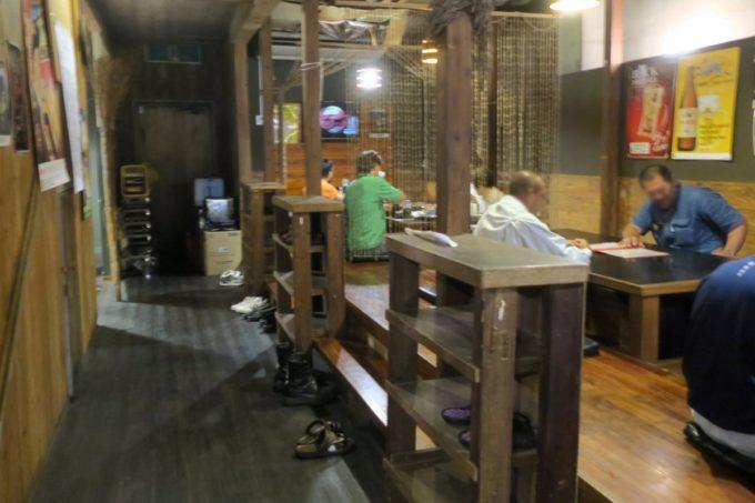 沖縄市「オークレストラン」の店内(お座敷席)