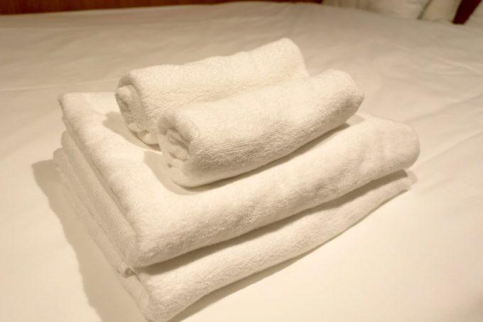 浅草のホステル「マスタードホテル浅草2(MUSTARD HOTEL ASAKUSA2)」は宿泊費にタオル代が含まれている。