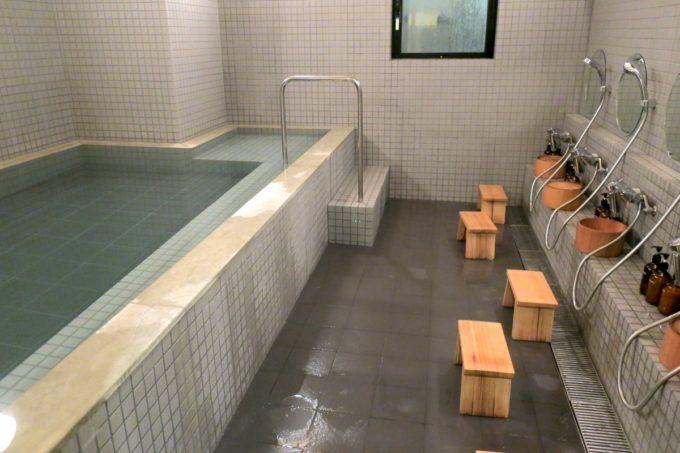 浅草のホステル「マスタードホテル浅草2(MUSTARD HOTEL ASAKUSA2)」の人工温泉