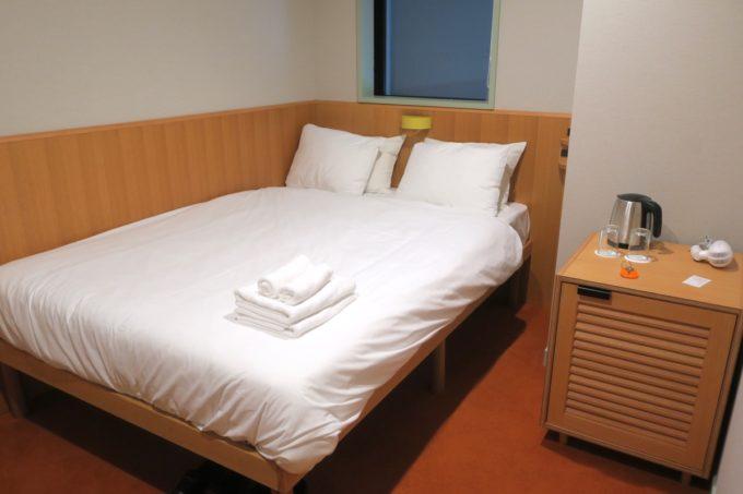 浅草のホステル「マスタードホテル浅草2(MUSTARD HOTEL ASAKUSA2)」ダブルルームをシングルユースした。