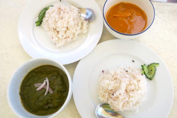 南城市「食堂かりか」のネパールカレーを食べる。