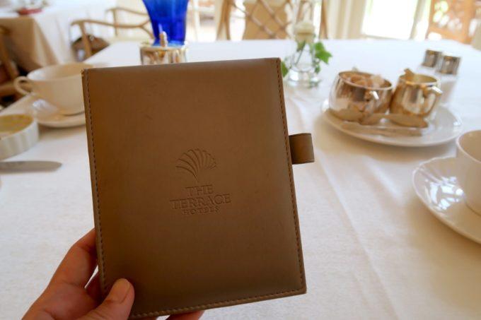 ザ・ナハテラスのレストラン「ファヌアン」ランチ後のお会計もスマートに。