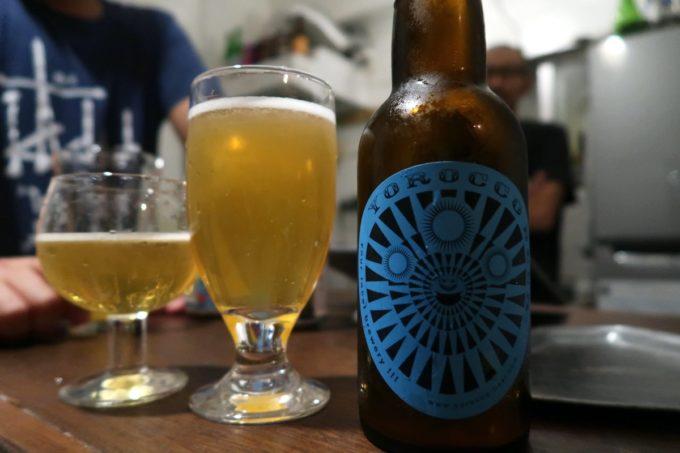 沖縄市の酒屋「HOPPED UP」ヨロッコビールのChoppy Saison #005(1000円)を試飲してみた。