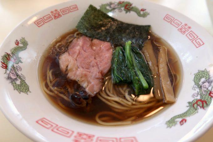 与那原「NAGISA okinawan ramen.(なぎさ おきなわ らーめん)」お子様醤油らーめん(550円)