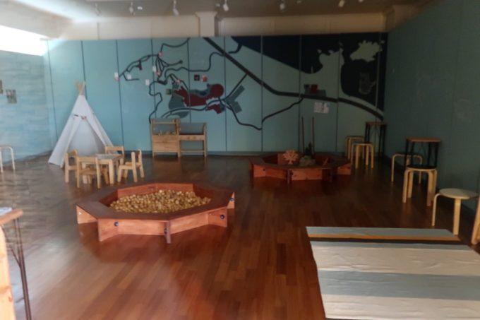 沖縄かりゆしビーチリゾート・オーシャンスパのかりゆしワンダーランド(内部)