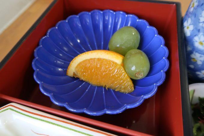 南風原町の沖縄県健康づくり財団で食べた季節の果物