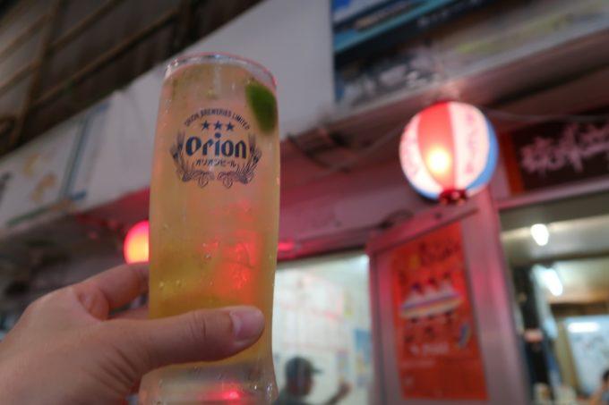 石垣島「琉球立飲酒場」せんべろドリンクのシークヮーサーサワー
