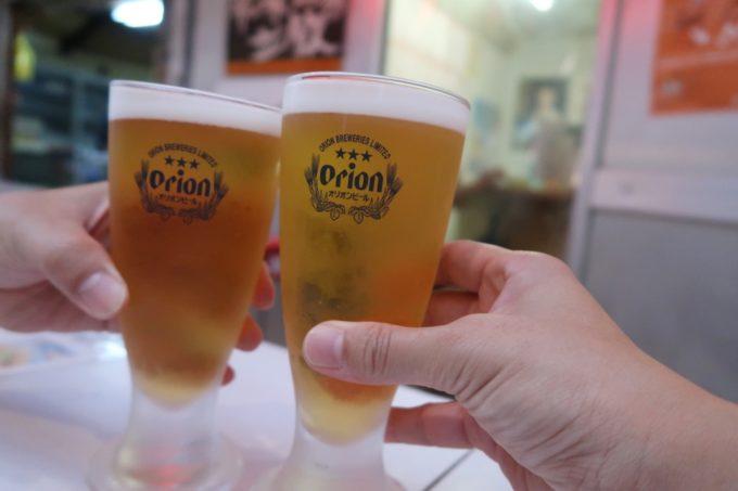 石垣島「琉球立飲酒場」せんべろのオリオンサザンスターで乾杯