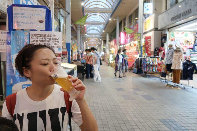 石垣島「琉球立飲酒場」商店街ユーグレナモールでせんべろ飲み。