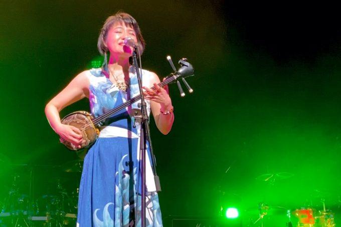 2020年2月16日「紫 結成50周年スペシャル MURASAKI LIVE IN KADENA」の出演したしゃかりのチアキ