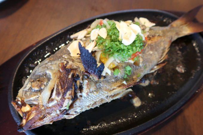 「うるま市民食堂」本日のバター焼き(シチューマチ、2150円)