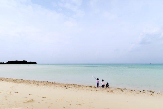 糸満「海ん道(うみんち)」の目の前にある名も無きビーチ