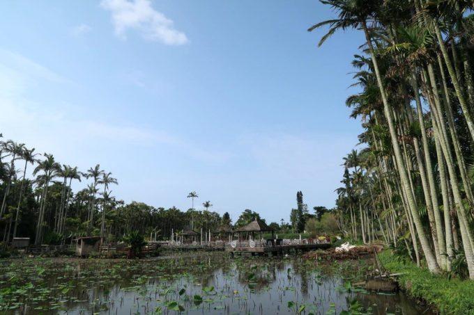沖縄「東南植物楽園」思いやりの湖