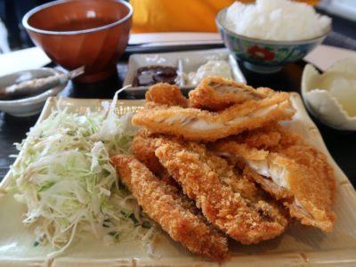 糸満「食工房まほろば」とれたて魚フライ定食(800円)