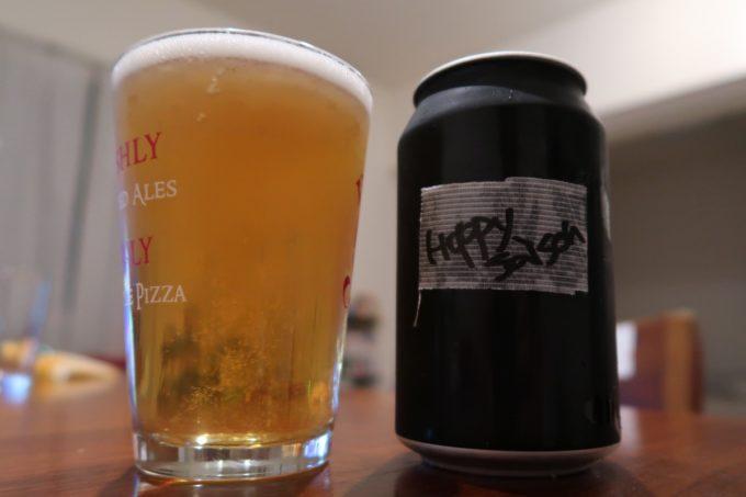 豊見城「Funny's Craft Beer(ファニーズクラフトビール)」で購入したriot beerのラウンドミッドナイツ(Hoppy Saison、330ml/935円)