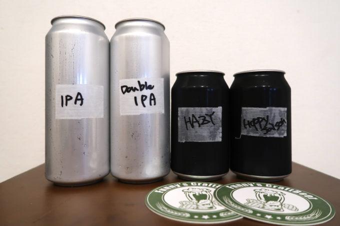 豊見城「Funny's Craft Beer(ファニーズクラフトビール)」持ち帰ったriot beerのクラフトビール4種類