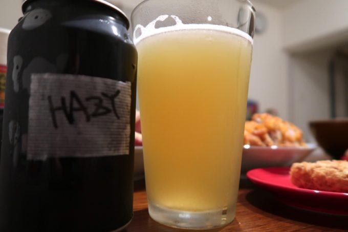 豊見城「Funny's Craft Beer(ファニーズクラフトビール)」で購入したriot beerのレキシコンデビル(Hazy IPA、330ml/935円)