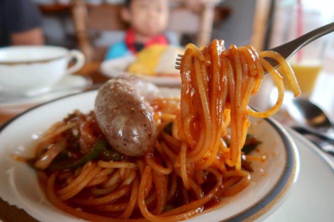 沖縄市・泡瀬「ハーベスト」洋食屋の上品なナポリタンがおいしい