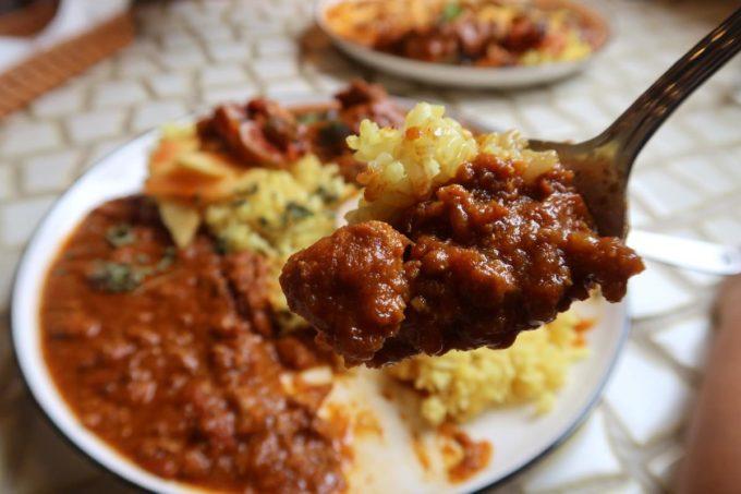 糸満「spice kitchen naminami(スパイスキッチン ナミナミ)」濃厚でスパイスを感じるキーマカレーはまさにやみつき