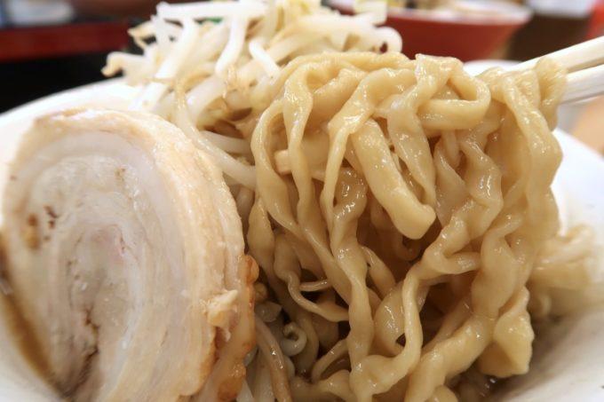 糸満市場いとま〜る「麺や金太郎」南二郎の極太麺