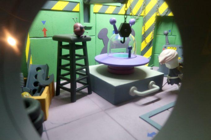 「仙台アンパンマンこどもミュージアム」バイキンマンの世界観がジオラマになっていた