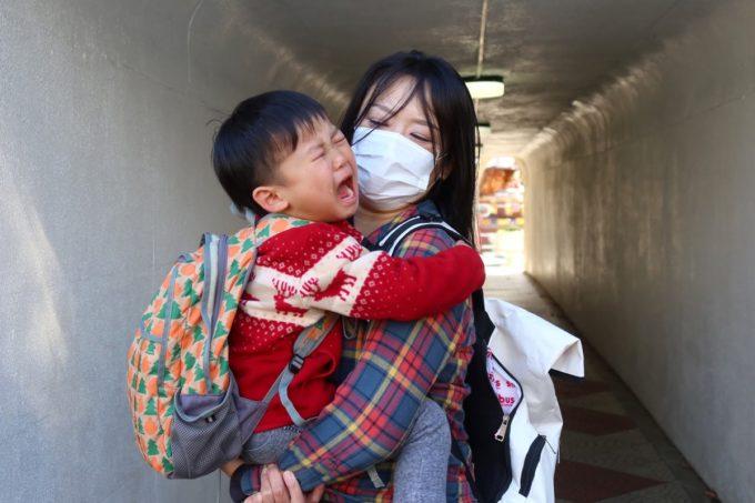仙台市「八木山ベニーランド」ジェットコースターが怖すぎて泣きじゃくるお子サマー