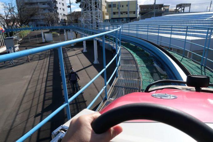 仙台市「八木山ベニーランド」スカイジェットを運転する