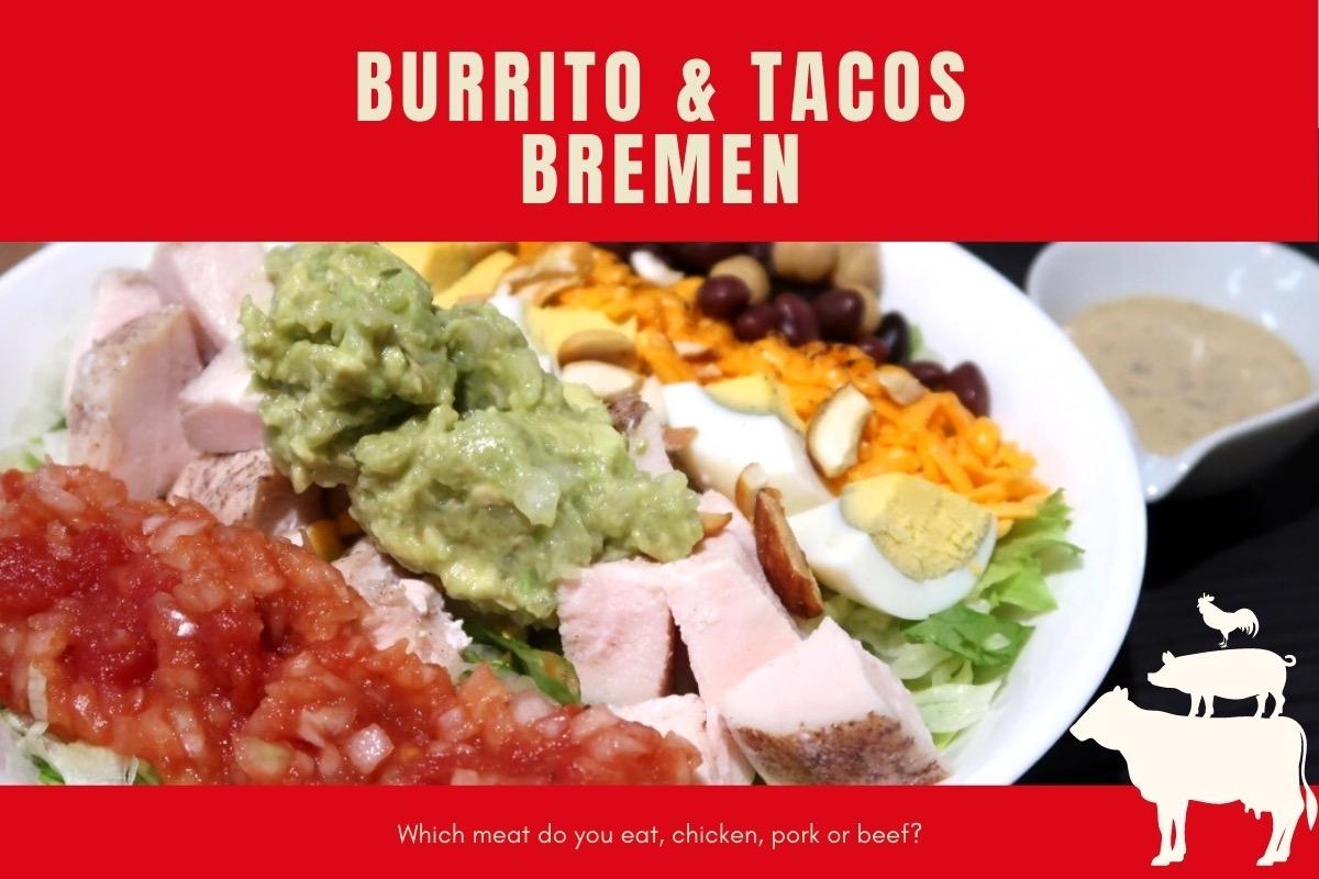 那覇・桶川「Burrito&Tacos Bremen(ブレーメン)」のメインビジュアル