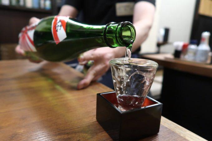 仙台「奥州酒場 ちだちゃん」このつまみには日本酒を飲みたくなる