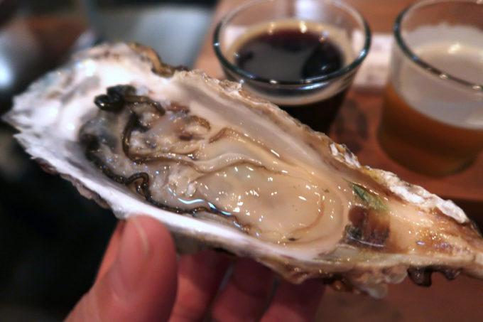 「クラフトマン仙台」で東北の牡蠣をいただく
