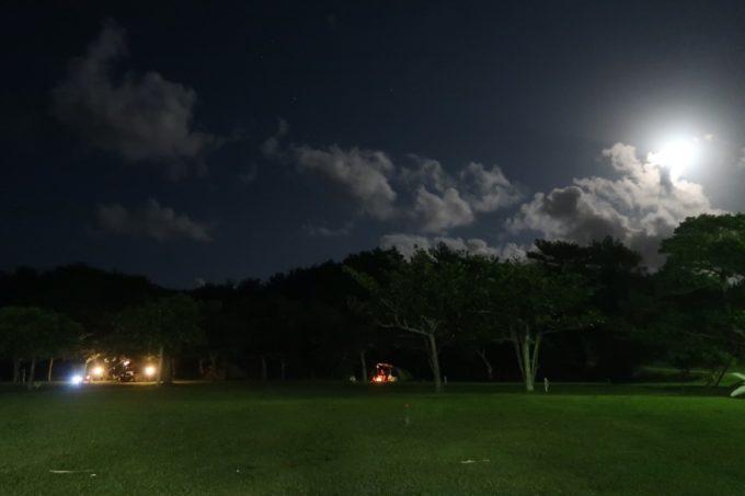 沖縄県東村「つつじエコパーク」キャンプ場は真っ暗で明かりが少なめ