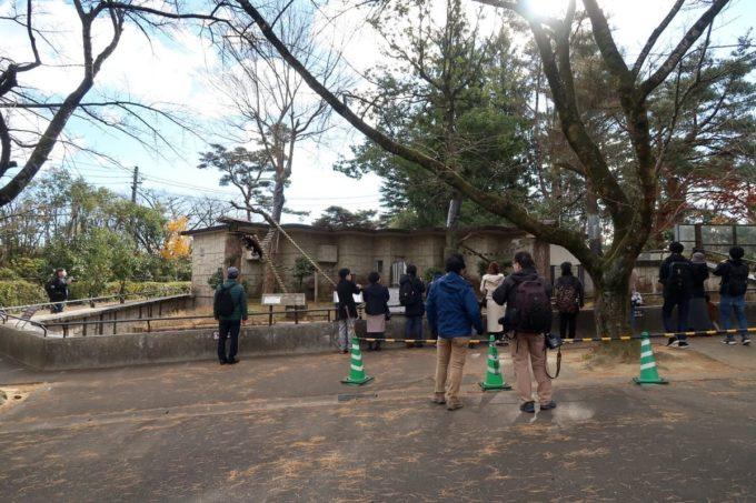 仙台市「八木山動物公園」に人だかりが。