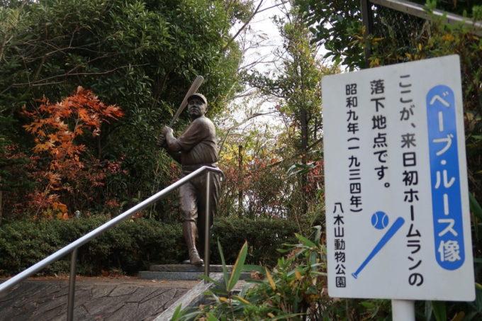 仙台市「八木山動物公園」ベーブルースがいた