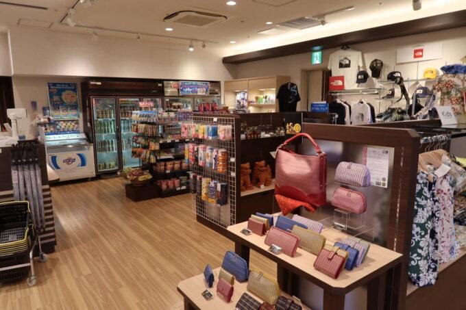 那覇市泉崎の「沖縄ハーバービューホテル」1階にあるショップ・特選館 南々風