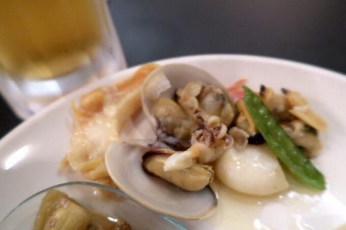 那覇市泉崎「沖縄ハーバービューホテル」ビアガーデンの魚介がおいしい