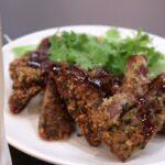 那覇市泉崎「沖縄ハーバービューホテル」ビアガーデンのラム肉のカツレツがおいしくて何度もリピートした