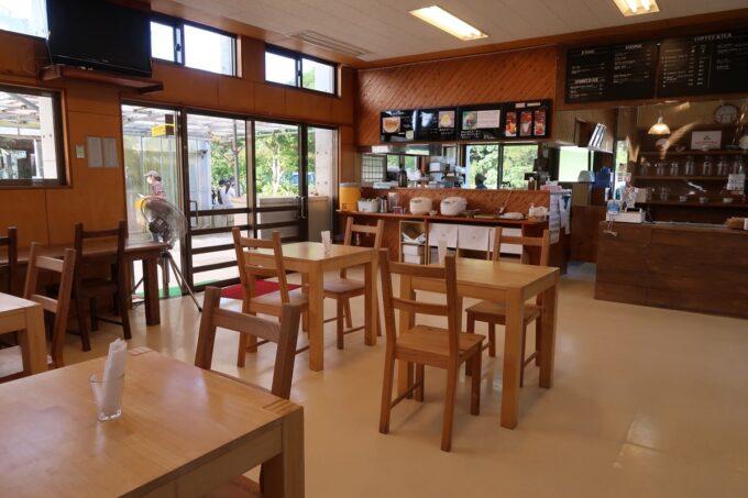 沖縄県東村「又吉コーヒー園」のカフェ