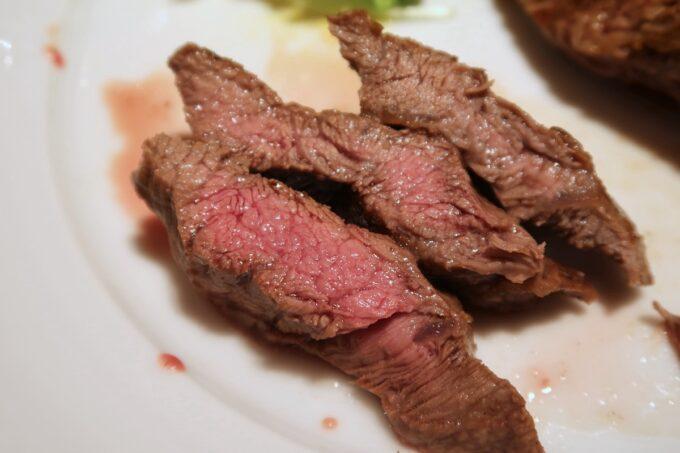 浦添パルコシティ「BEEF RUSH29(ビーフラッシュ29)」プラチナコースの追加肉、ミスジがおいしい