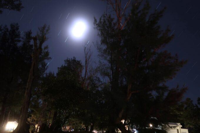 沖縄県金武町「ネイチャーみらい館」夜間の天体撮影