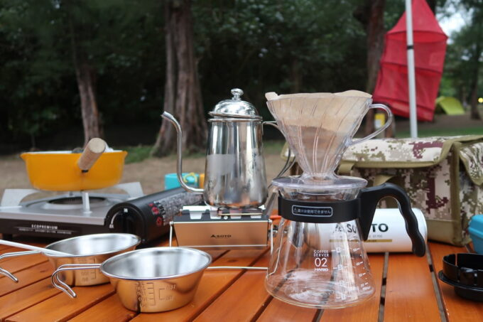 沖縄県金武町「ネイチャーみらい館」コーヒーメーカー一式