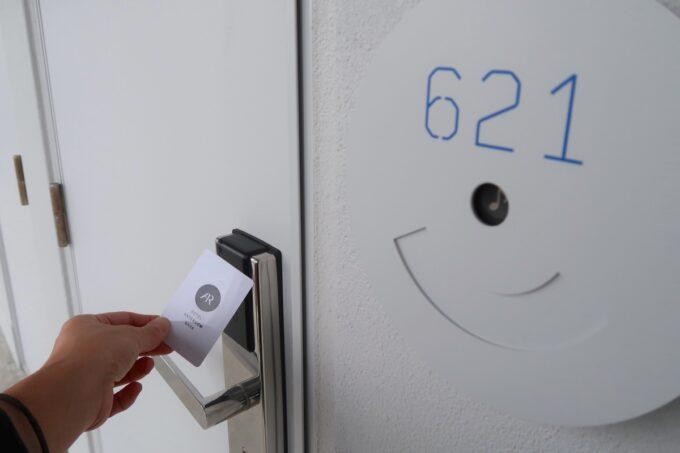 那覇市前島「ホテルアンテルーム那覇」今回利用したのは621号室