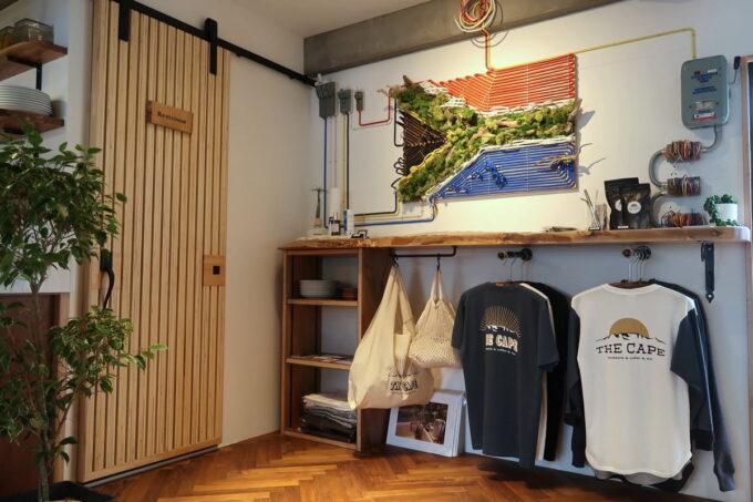 那覇市古波蔵「THE CAPE(ザ・ケープ)」の店内で販売される小物など